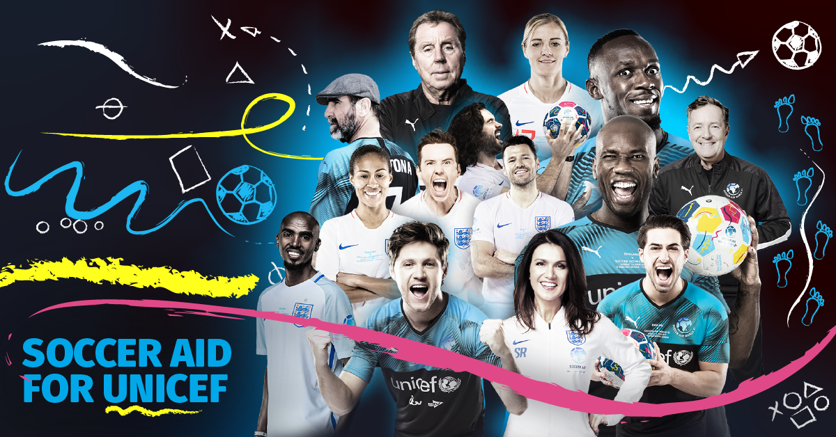 Soccer Aid For Unicef Press Release Soccer Aid
